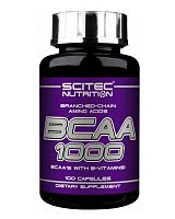 ВСАА 1000 mg - 100 капсул (Scitec Nutrition)